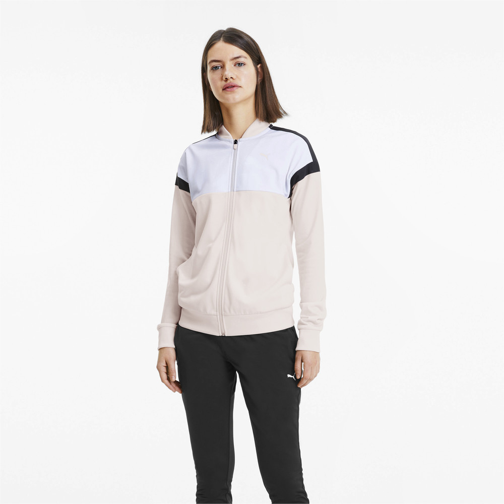 Изображение Puma Спортивный костюм Colourblock Tricot Track Suit #1