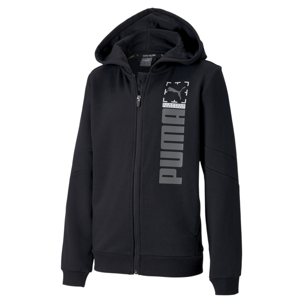 Image PUMA Active Sports Full Zip Youth Hoodie #1