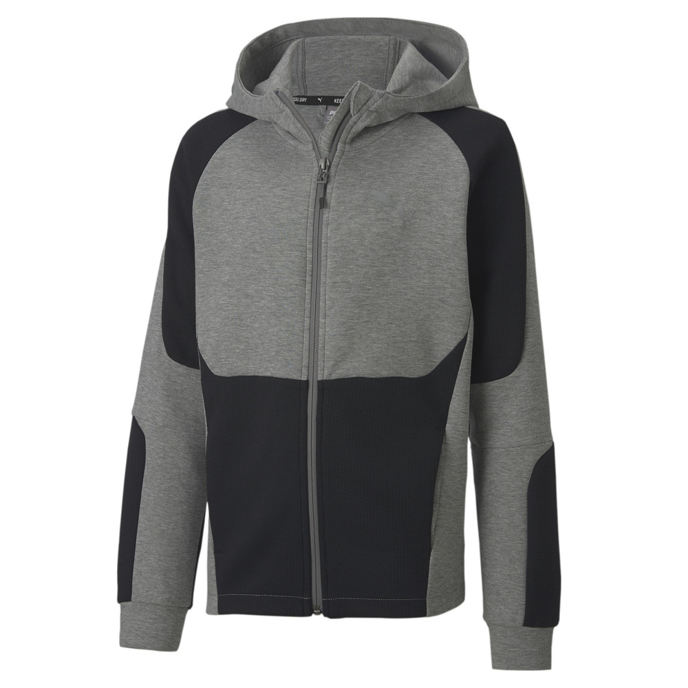Image Puma Evostripe Full Zip Youth Hoodie #1