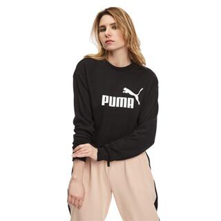 Görüntü Puma ESSENTIAL LOGO Bisiklet Yaka Kadın Sweatshirt