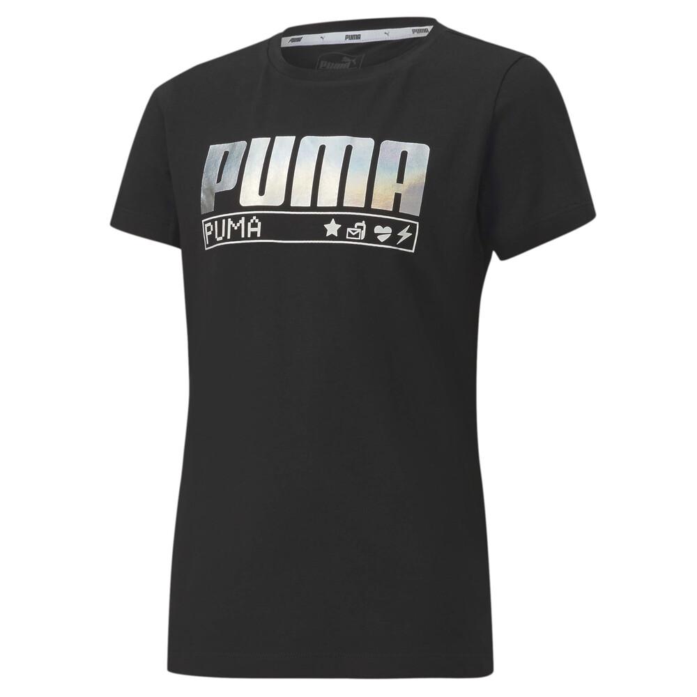 Image PUMA Alpha Short Sleeve Youth Tee #1