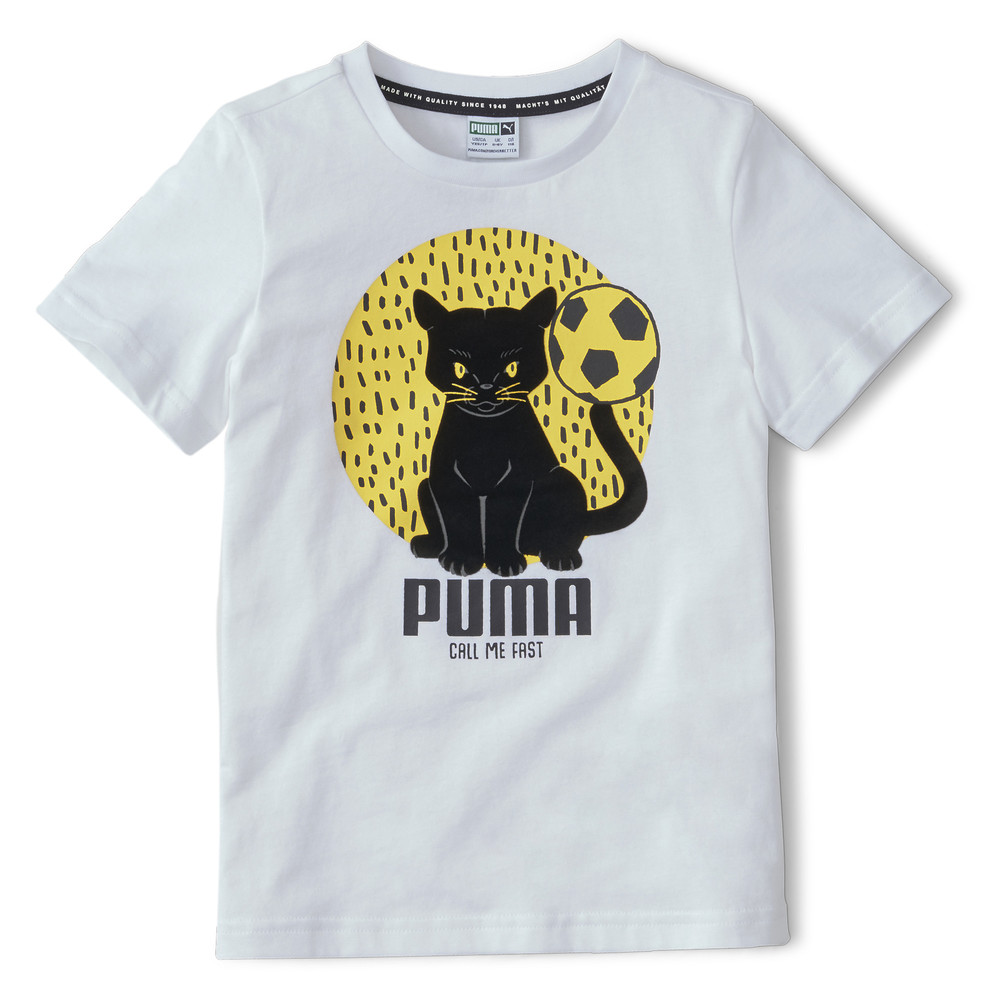 Image Puma Animals Suede Kids' Tee #1
