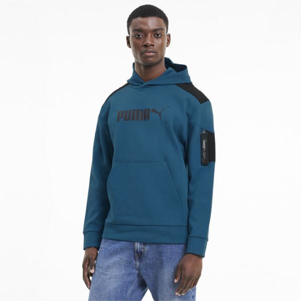 Puma Nu-Tility Men's Hoodie In Digi/Blue, Size L