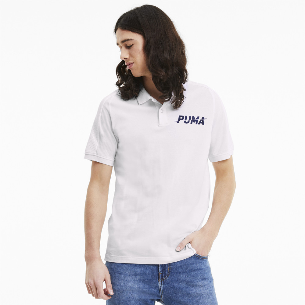Image Puma Modern Sports Short Sleeve Men's Polo Shirt #1
