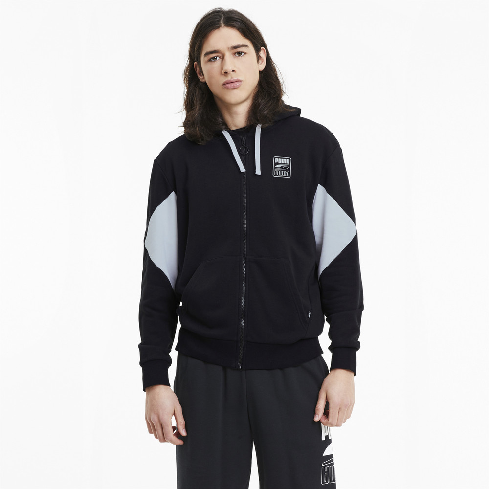 Image PUMA Rebel Full Zip Men's Hoodie #1