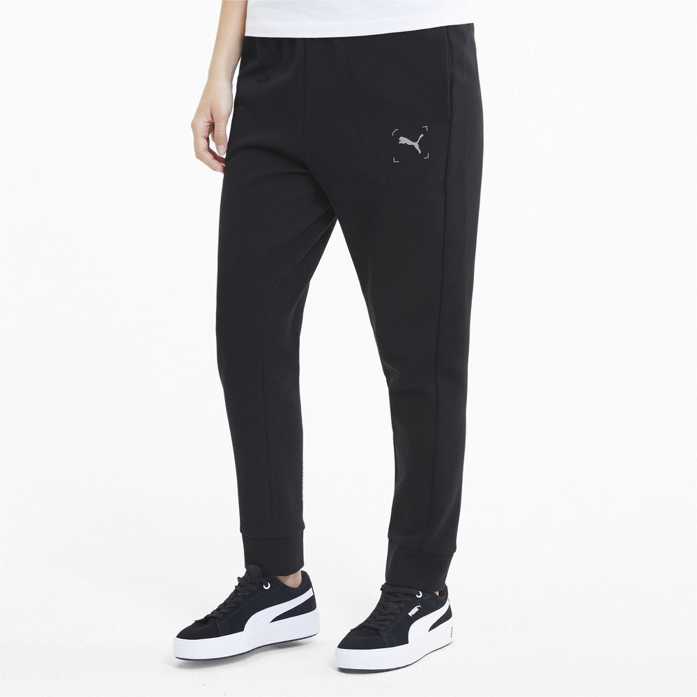 Image Puma NU-TILITY Knitted Women's Sweatpants #1
