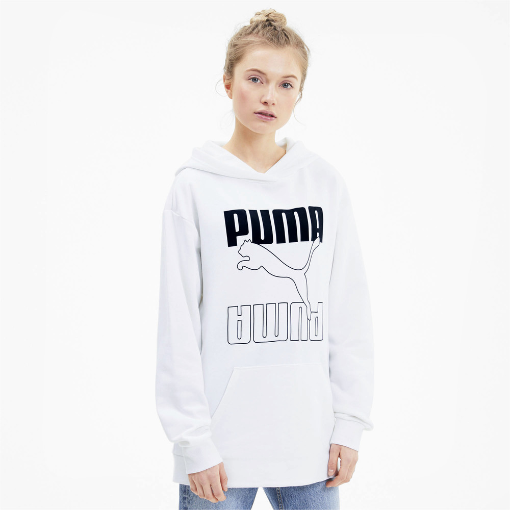 Image PUMA Rebel Elongated Women's Hoodie #1
