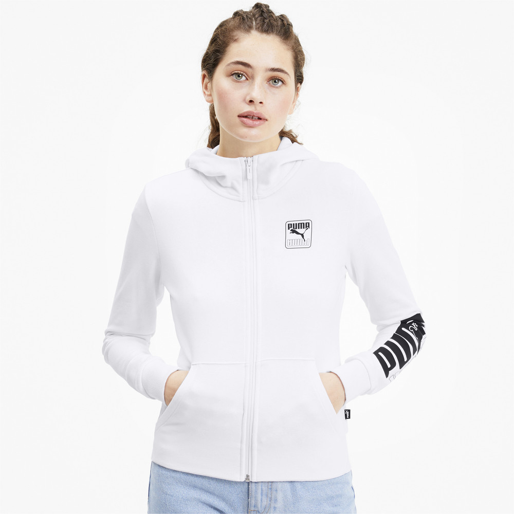 Image PUMA Rebel Full Zip Women's Hoodie #1