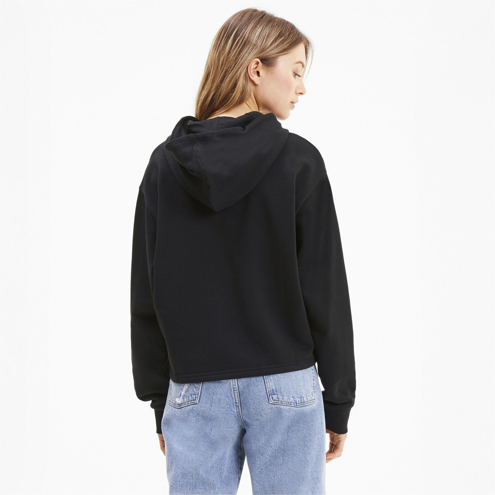 Image PUMA Amplified Cropped Women's Hoodie #2