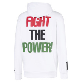 Thumbnail 2 of PUMA x PUBLIC ENEMY Men's Hoodie, Puma White, medium