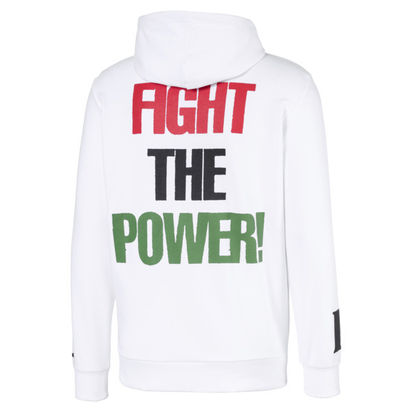 PUMA x PUBLIC ENEMY Men's Hoodie, Puma White, large