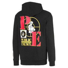 Thumbnail 2 of PUMA x PUBLIC ENEMY Herren Hoodie, Puma Black, medium