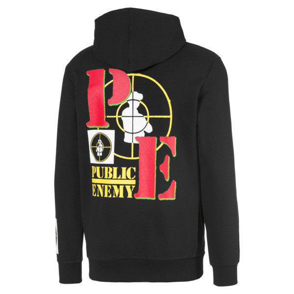PUMA x PUBLIC ENEMY Herren Hoodie, Puma Black, large