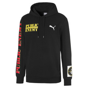 Thumbnail 1 of PUMA x PUBLIC ENEMY Herren Hoodie, Puma Black, medium