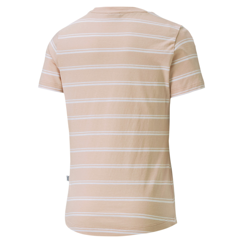 Image Puma Essentials+ Striped Youth Tee #2