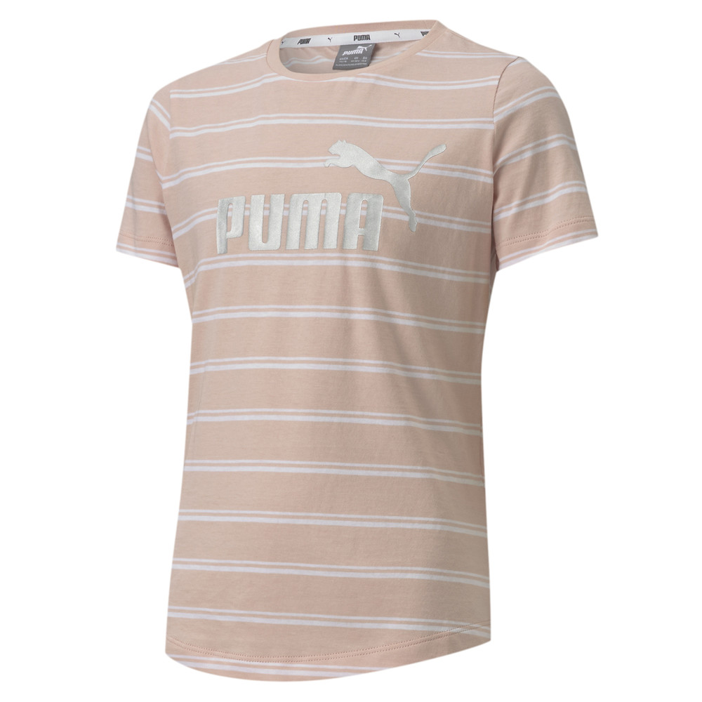 Image Puma Essentials+ Striped Youth Tee #1