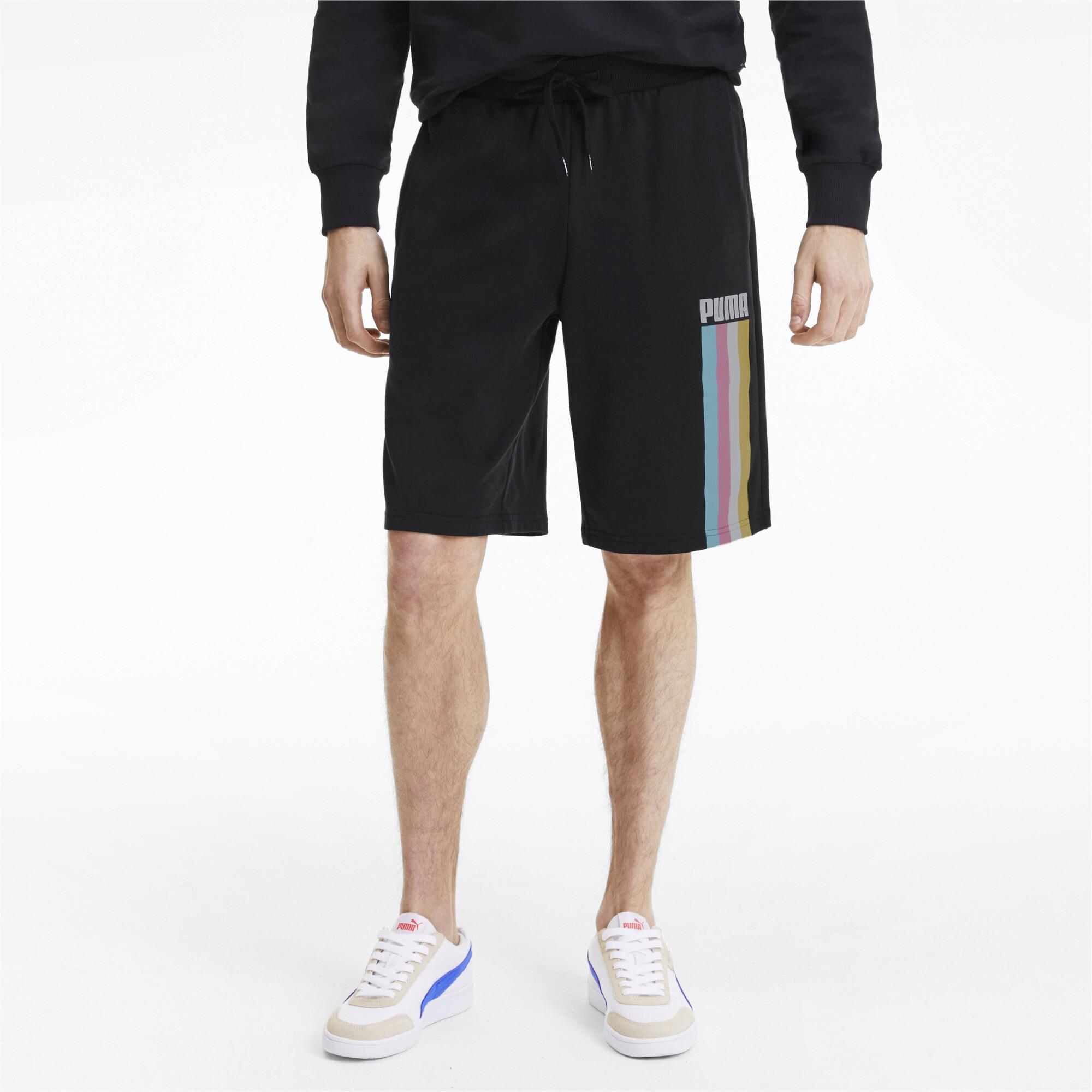 PUMA-Celebration-Men-039-s-Shorts-Men-Knitted-Shorts-Basics thumbnail 4