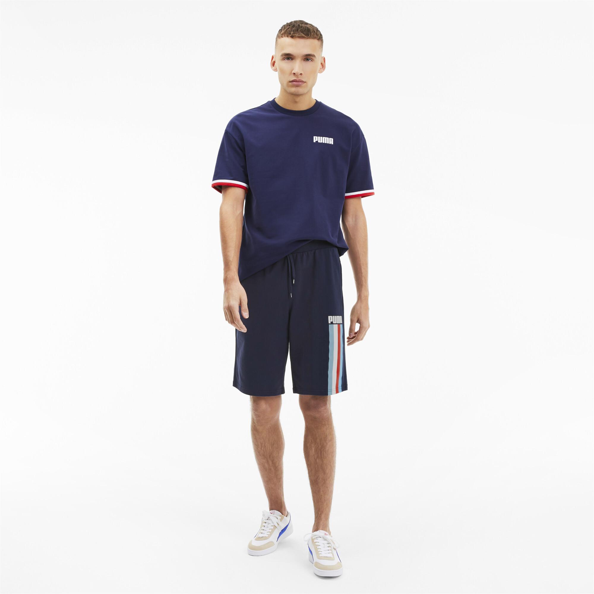 PUMA-Celebration-Men-039-s-Shorts-Men-Knitted-Shorts-Basics thumbnail 11