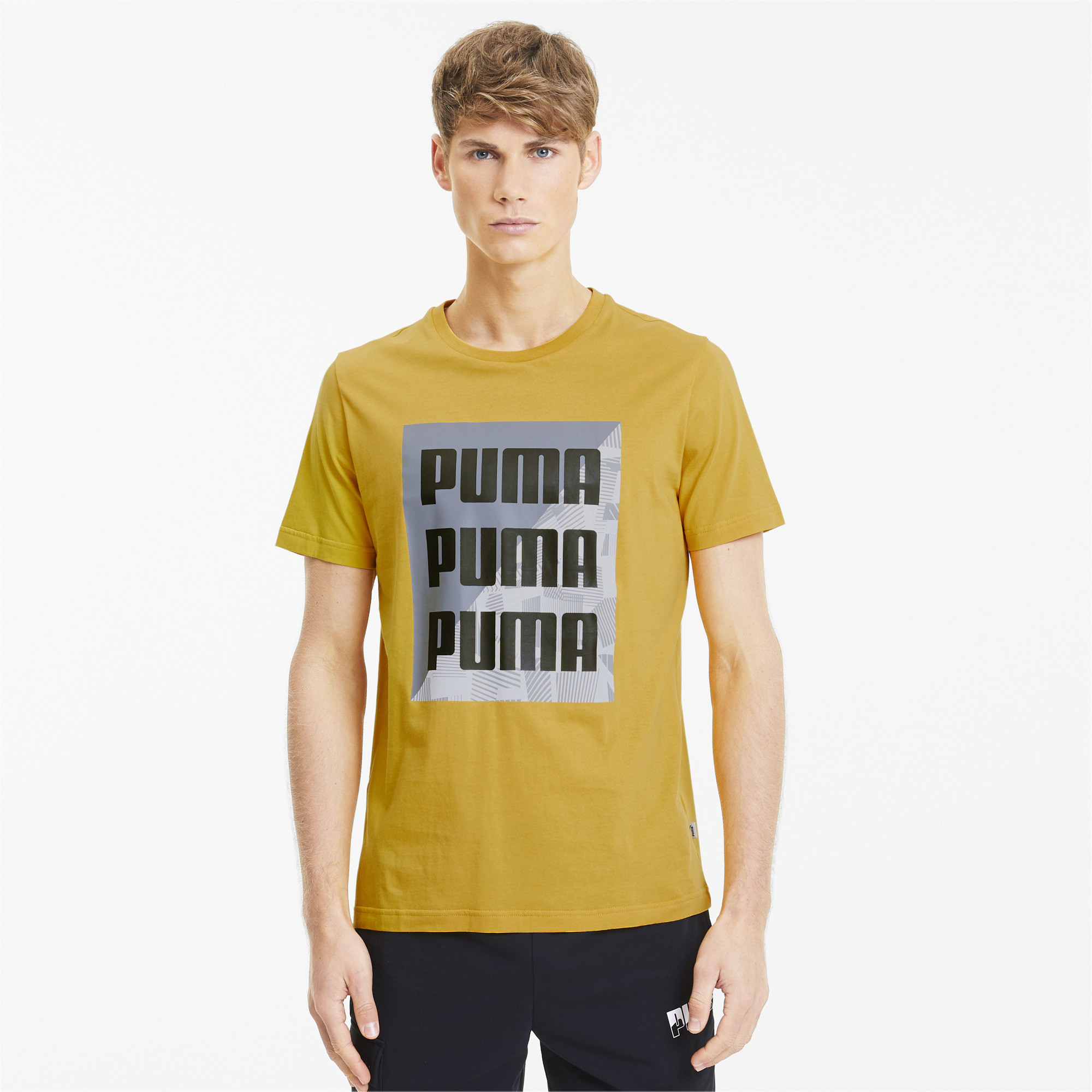 PUMA-Men-039-s-Summer-Print-Graphic-Tee thumbnail 9