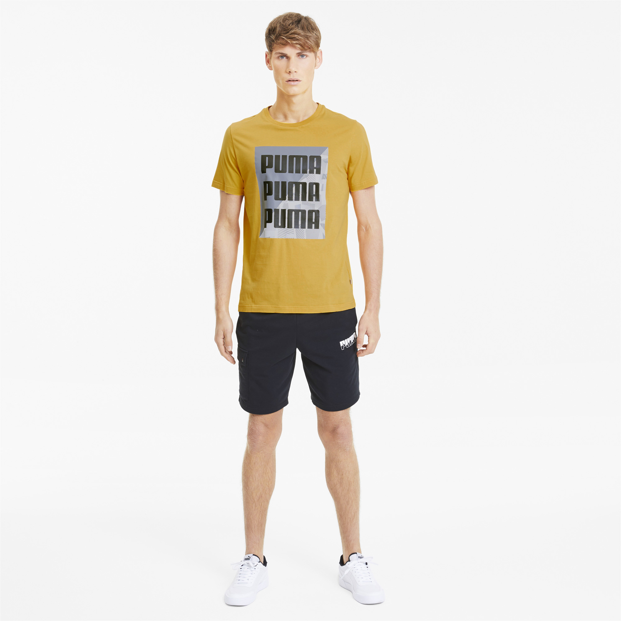 PUMA-Men-039-s-Summer-Print-Graphic-Tee thumbnail 11