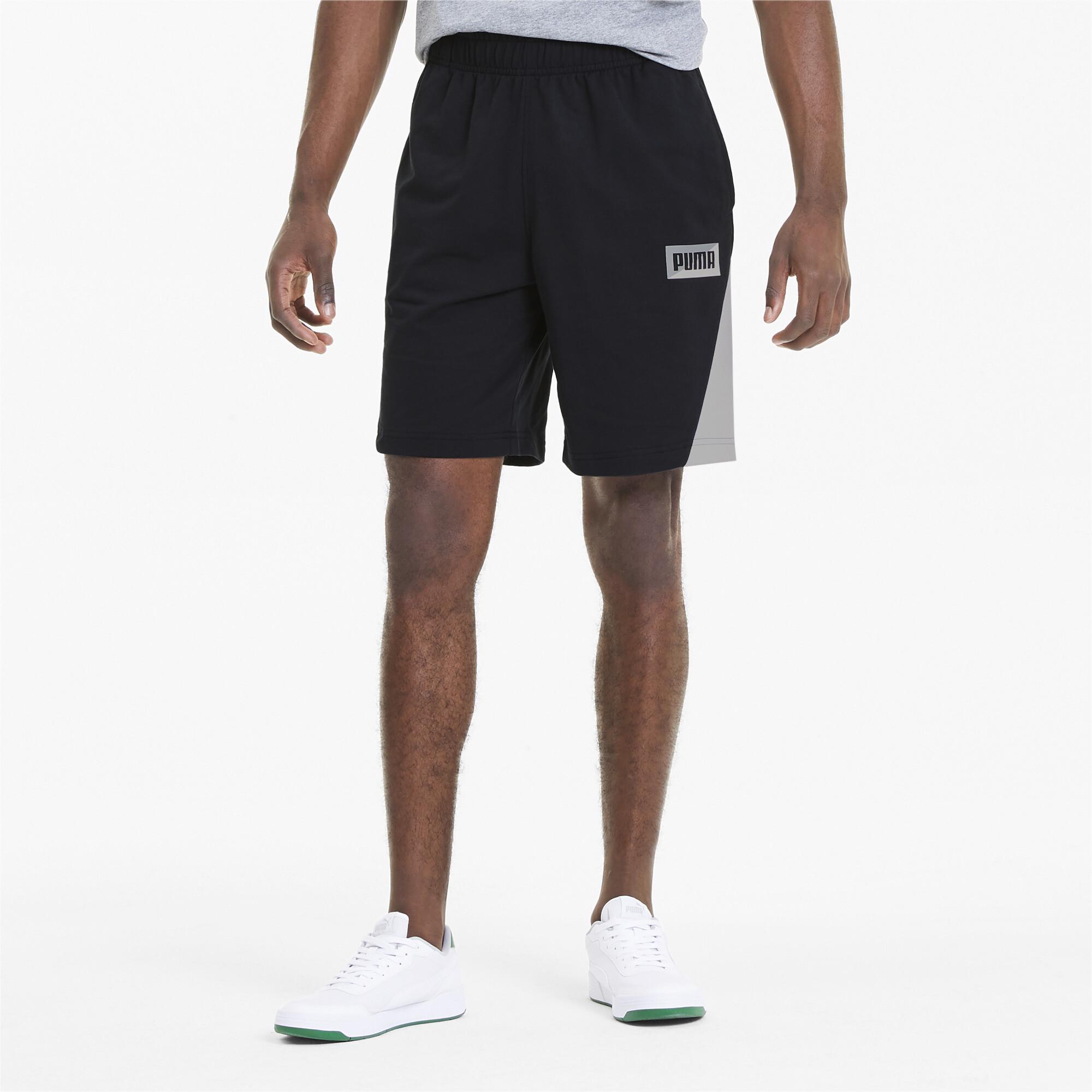PUMA-Summer-Print-Men-039-s-Shorts-Men-Knitted-Shorts-Basics thumbnail 9