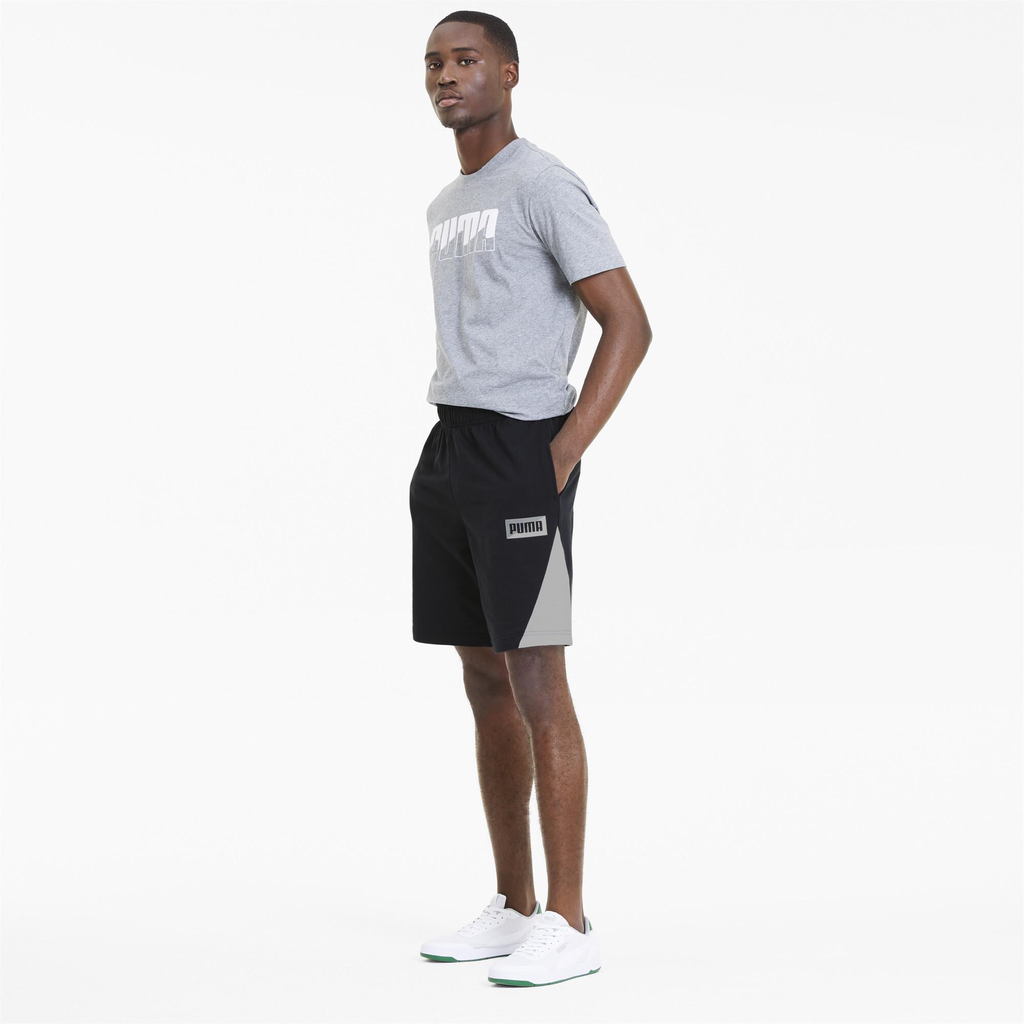PUMA-Summer-Print-Men-039-s-Shorts-Men-Knitted-Shorts-Basics thumbnail 11
