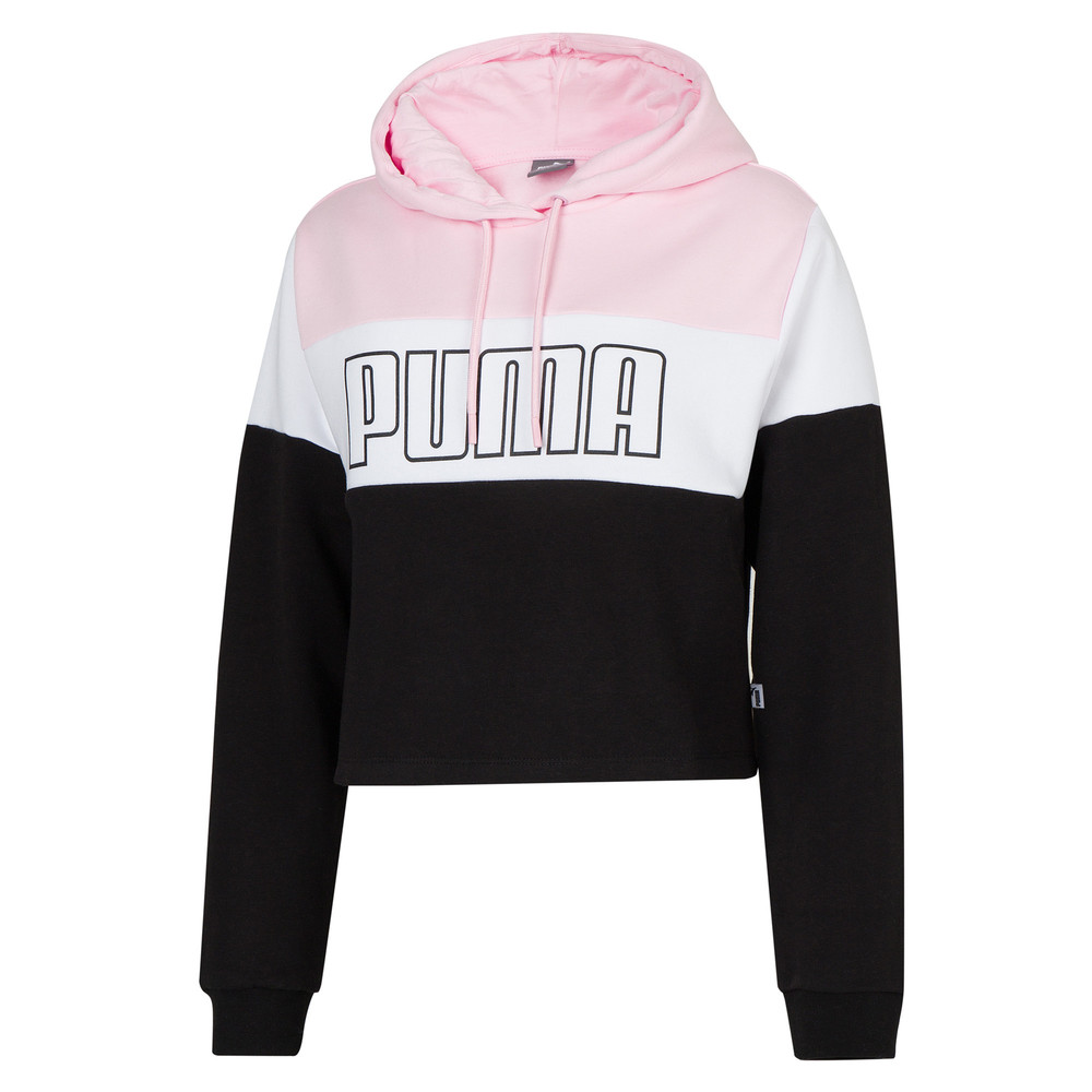 Зображення Puma Толстовка Color Block Cropped Hoodie 6 #1