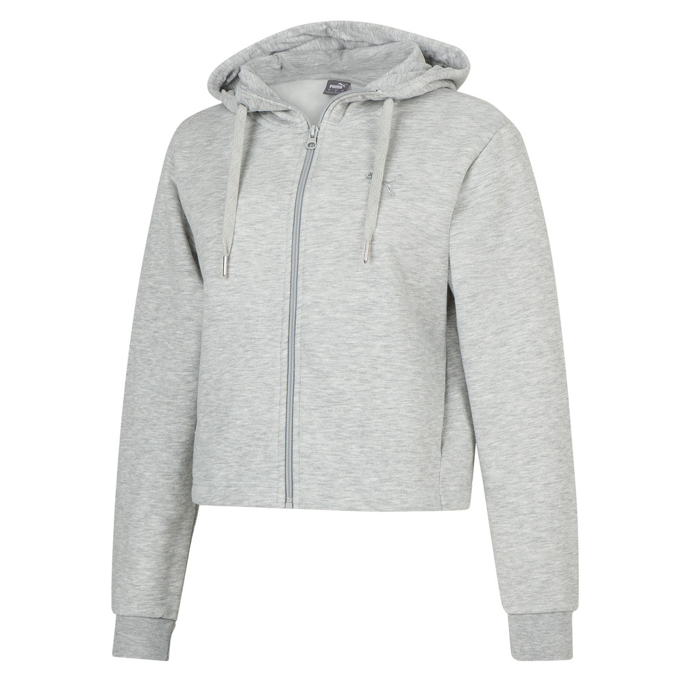 Изображение Puma Толстовка Scoop Neck FZ Hooded Jacket6 #1