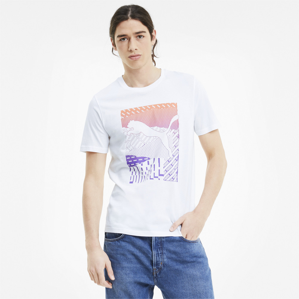 Image PUMA Cat Box Men's Tee #1