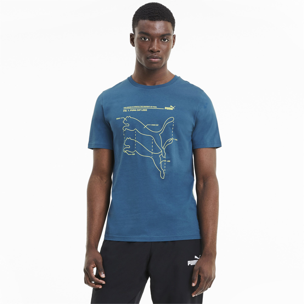 Image PUMA Digi Cat Men's Tee #1