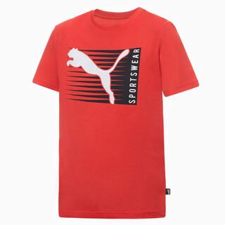 Зображення Puma Дитяча футболка Boys Cat Logo Tee
