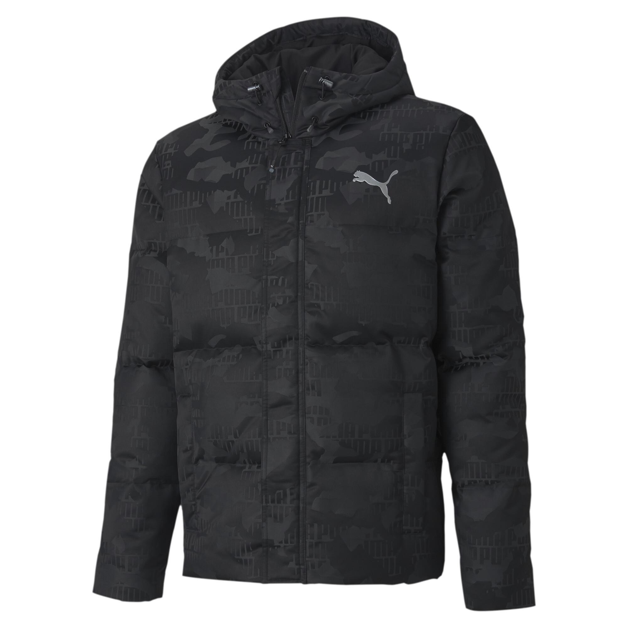 【プーマ公式通販】 プーマ カモ ダウン ジャケット メンズ Puma Black |PUMA.com