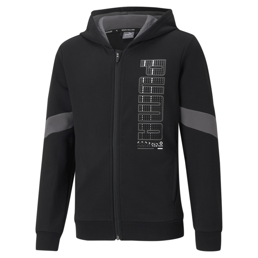 Image PUMA Active Sports Full-Zip Youth Hoodie #1