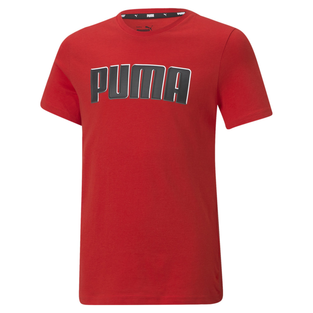 Image PUMA Alpha Graphic Youth Tee #1