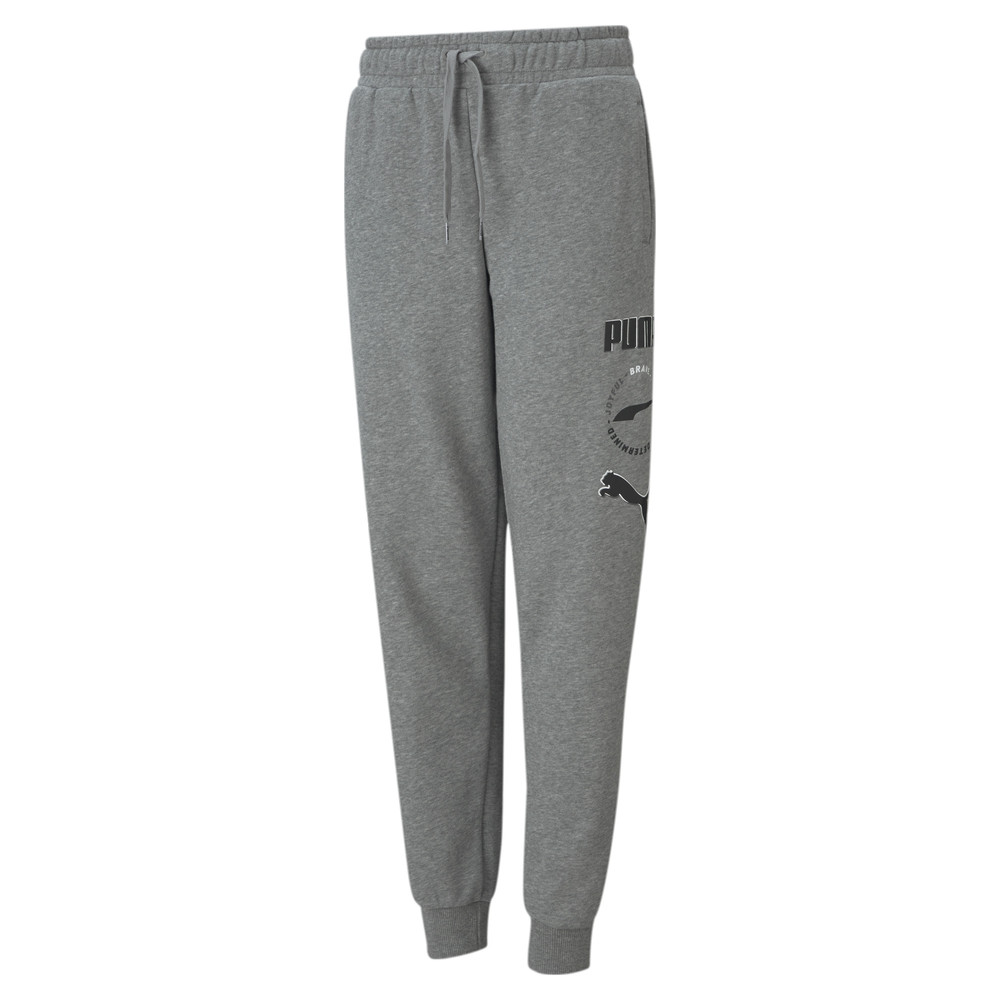 Image PUMA Alpha Youth Sweatpants #1