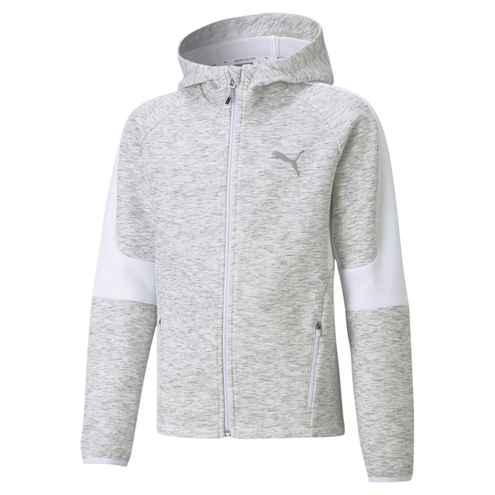 Image PUMA Evostripe Full-Zip Youth Hoodie #1