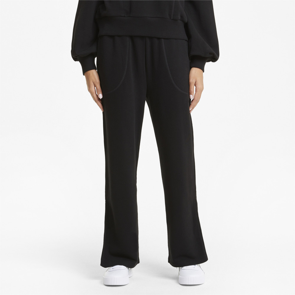 Image PUMA HER Wide Women's Sweatpants #1