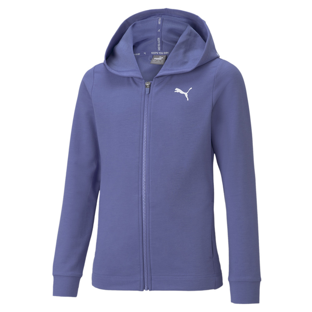 Image PUMA Modern Sports Full-Zip Youth Hoodie #1