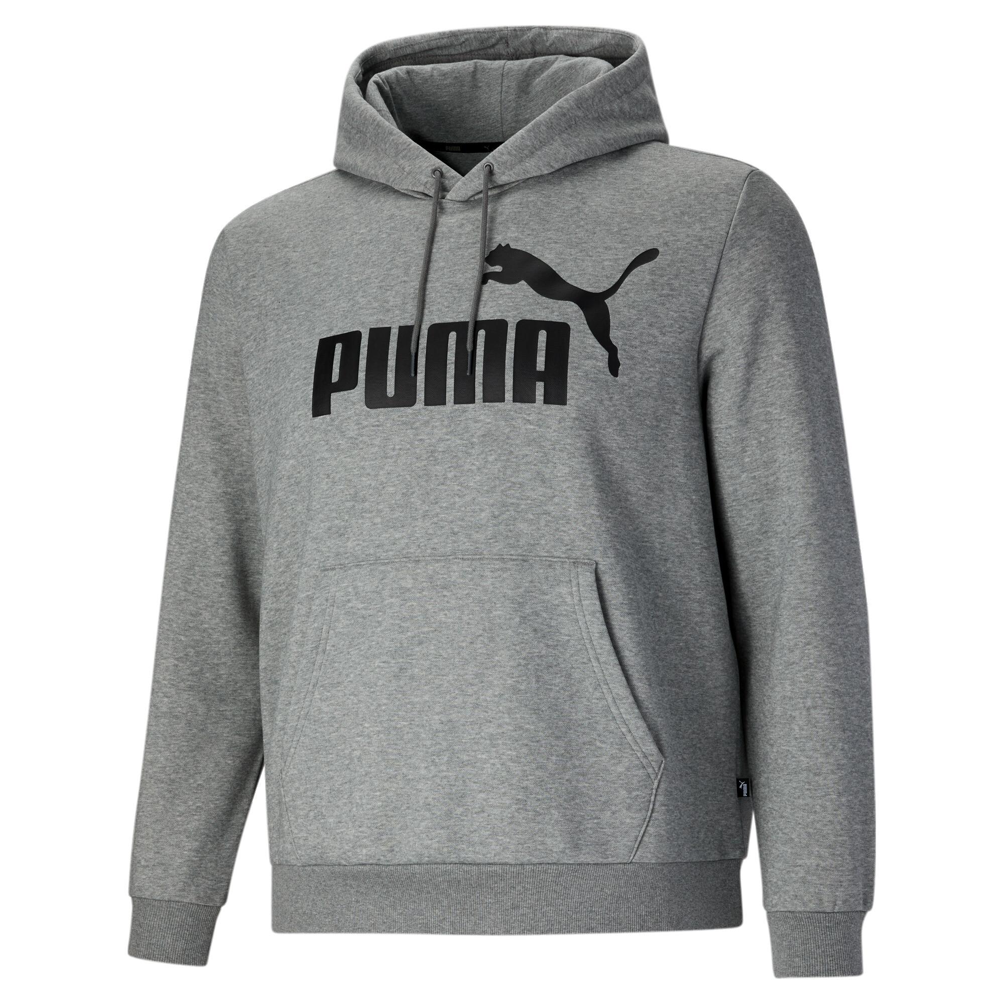 thumbnail 10 - PUMA Men's Essentials Big Logo Hoodie Big & Tall