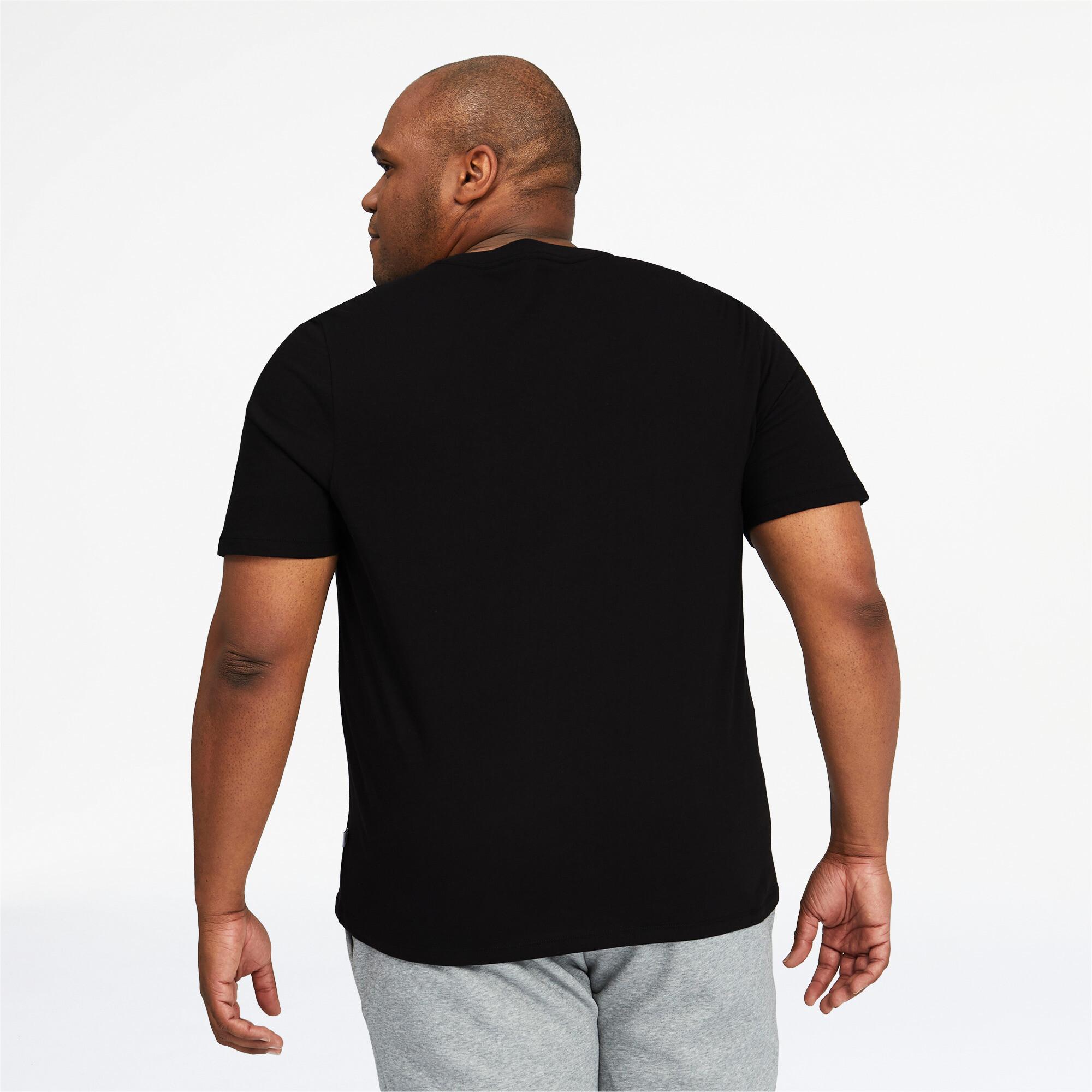 thumbnail 6 - PUMA Men's Essentials+ V-Neck Tee Big & Tall