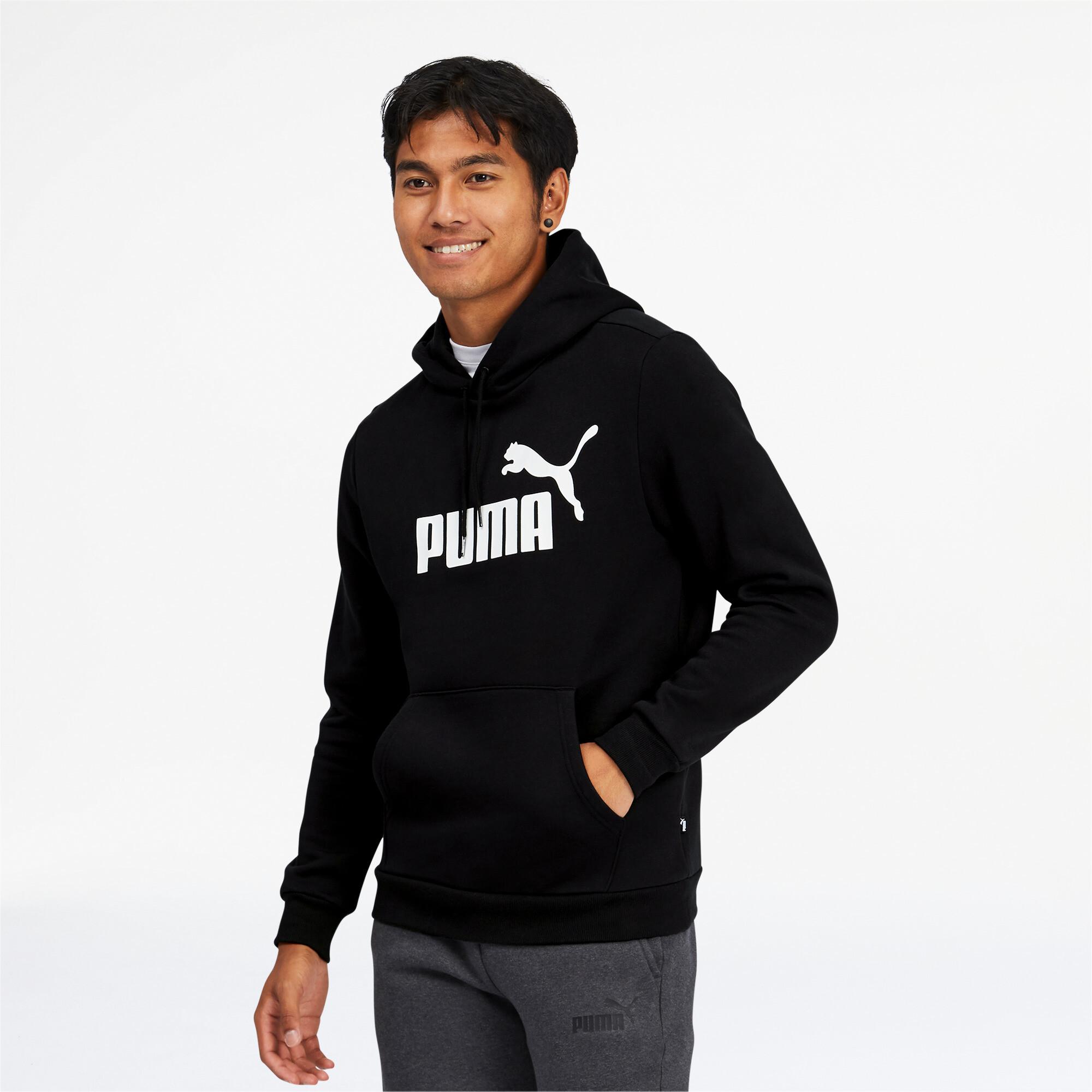 PUMA-Men-039-s-Essentials-Big-Logo-Hoodie thumbnail 17