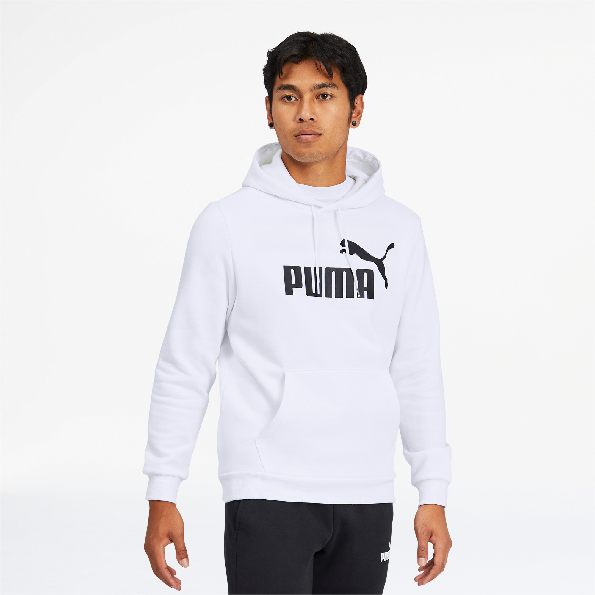 thumbnail 12 - PUMA Men's Essentials Big Logo Hoodie