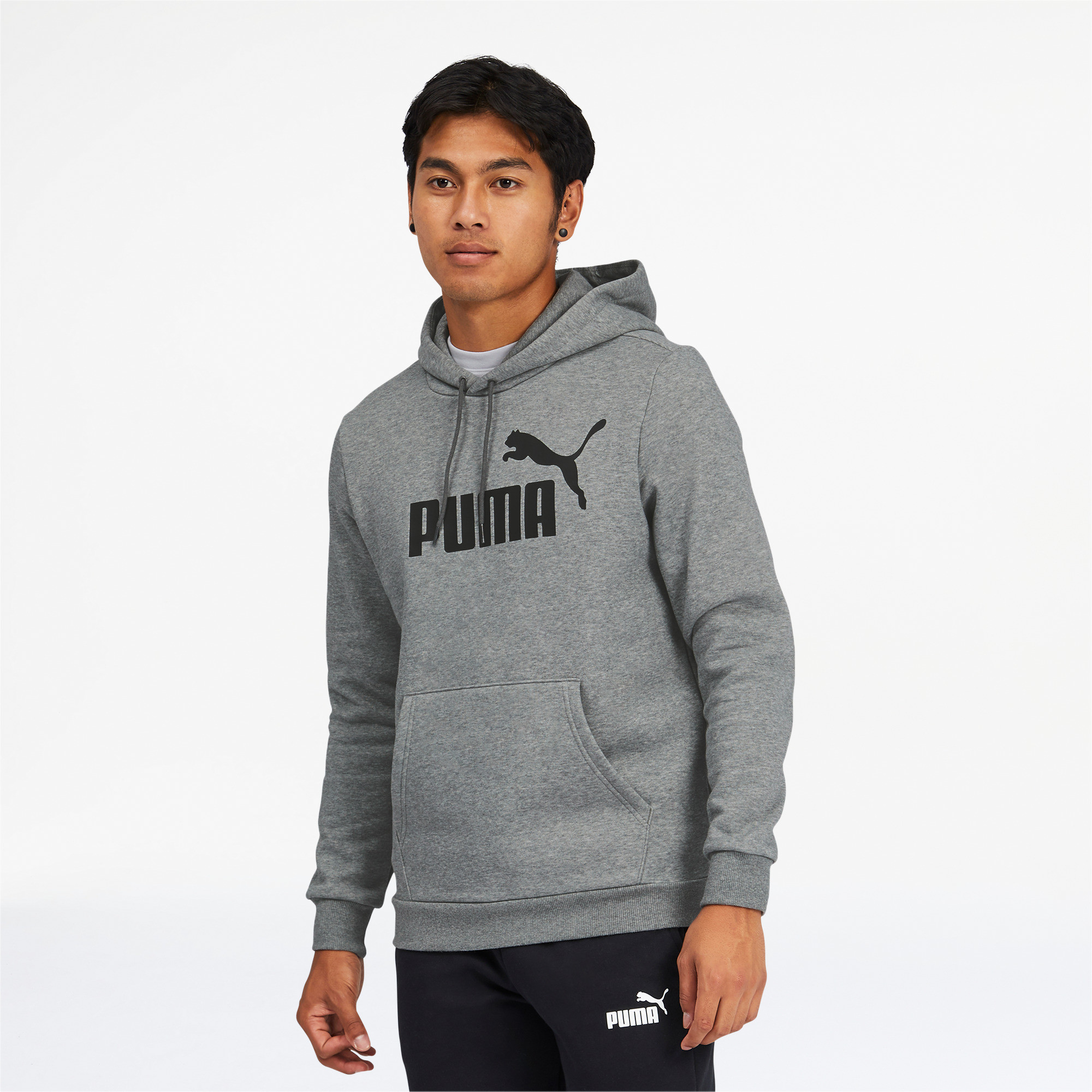 thumbnail 20 - PUMA Men's Essentials Big Logo Hoodie