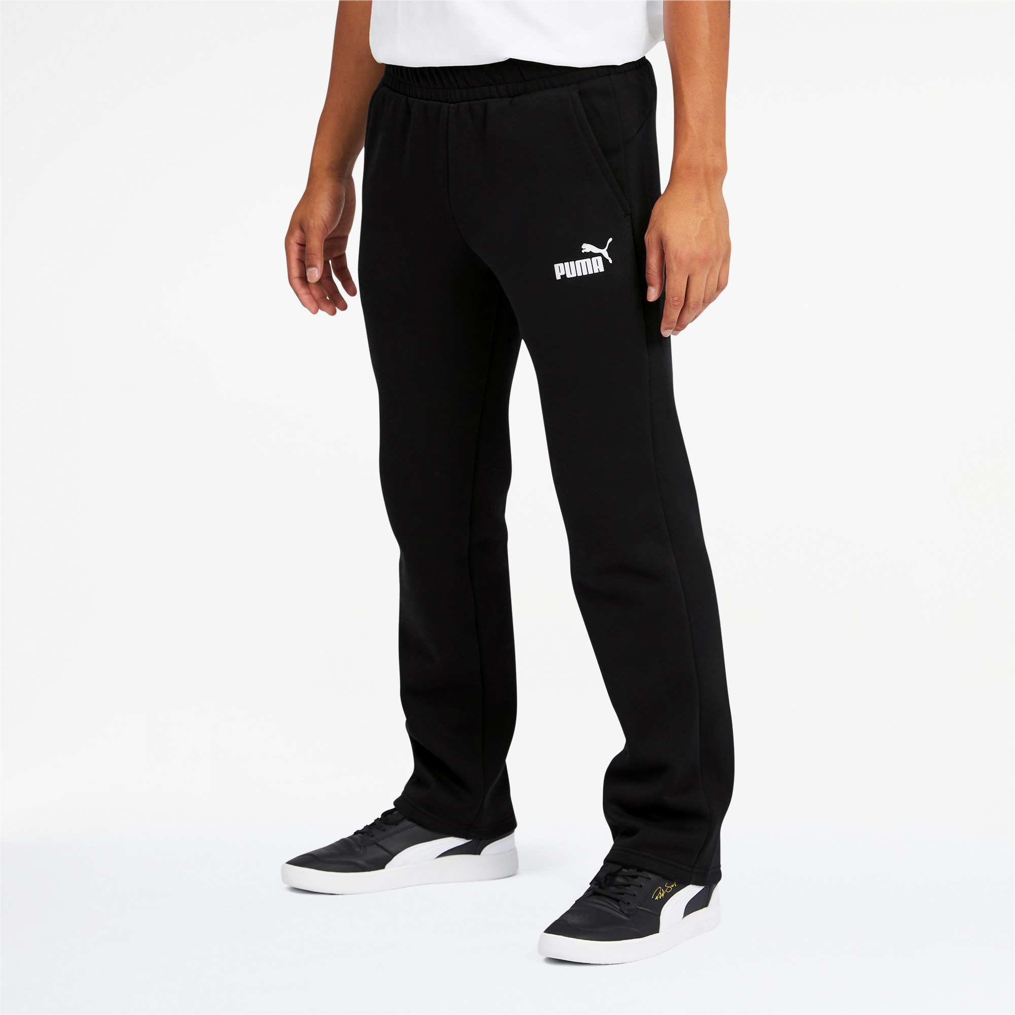 PUMA-Men-039-s-Essentials-Logo-Pants thumbnail 9