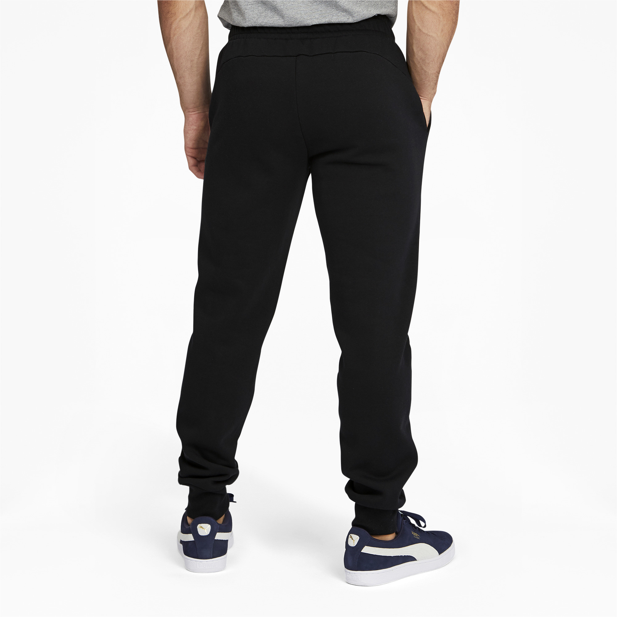 PUMA-Men-039-s-Essentials-Logo-Sweatpants thumbnail 5