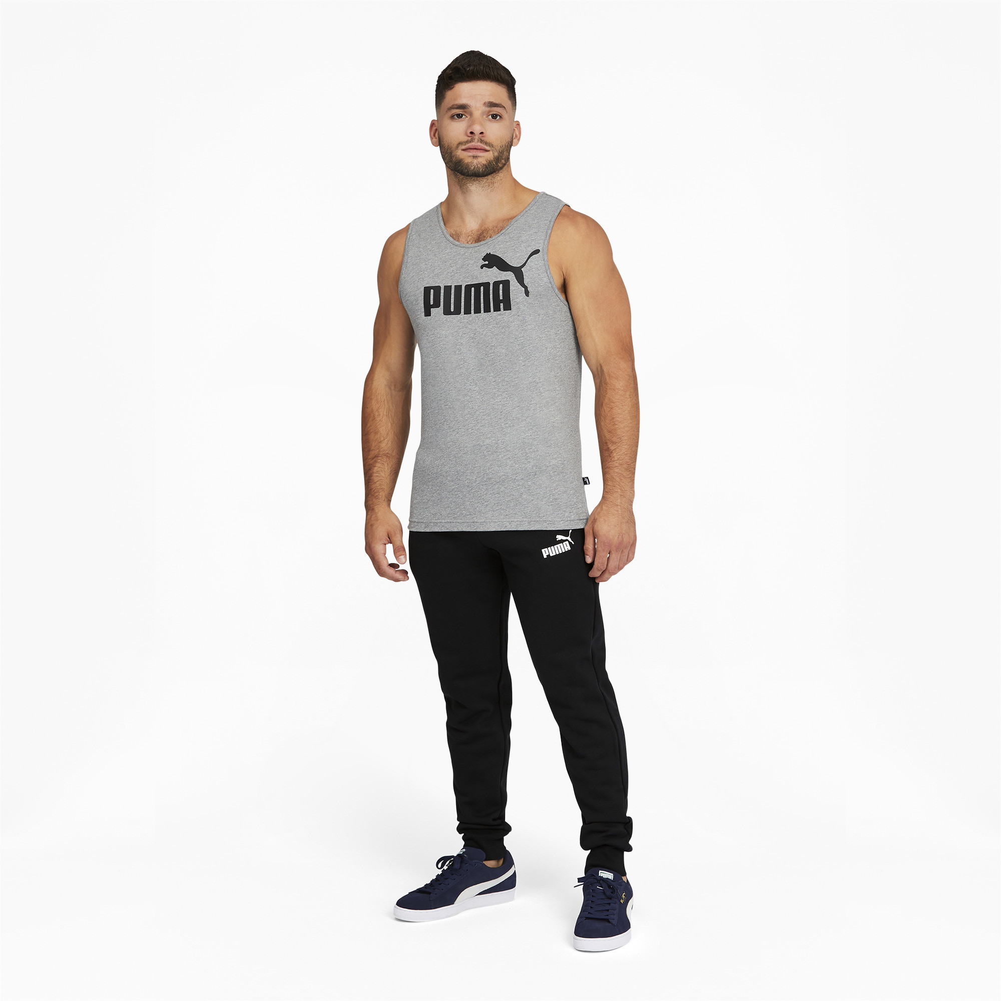 PUMA-Men-039-s-Essentials-Logo-Sweatpants thumbnail 6