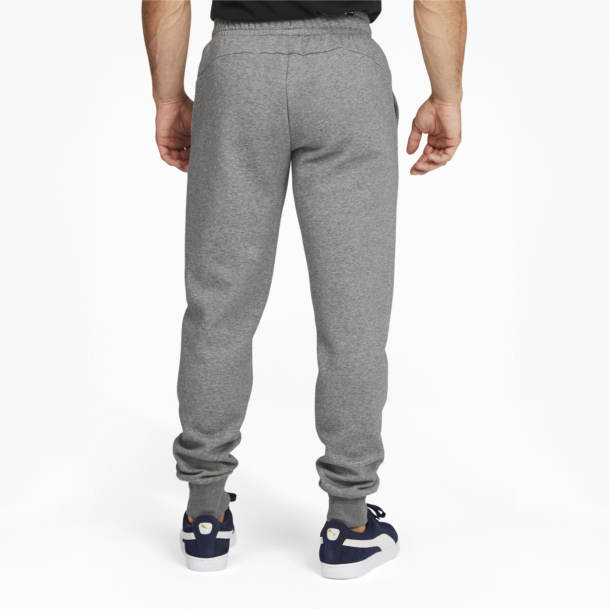 PUMA-Men-039-s-Essentials-Logo-Sweatpants thumbnail 10