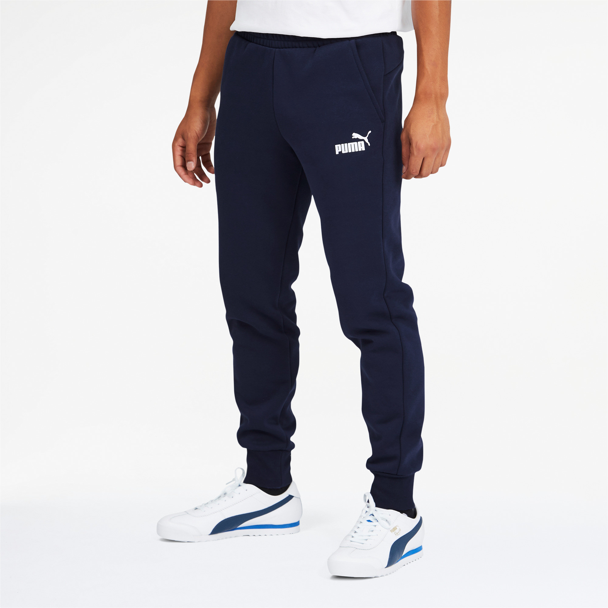 PUMA-Men-039-s-Essentials-Logo-Sweatpants thumbnail 14