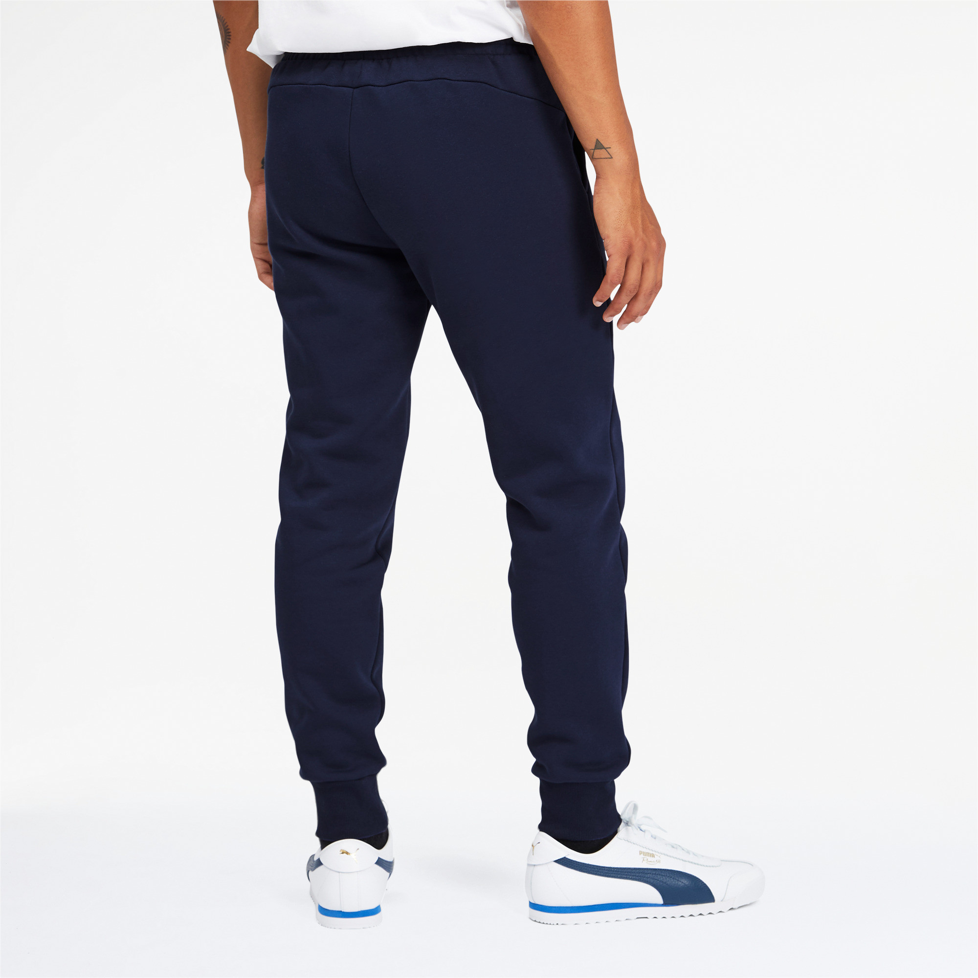 PUMA-Men-039-s-Essentials-Logo-Sweatpants thumbnail 15
