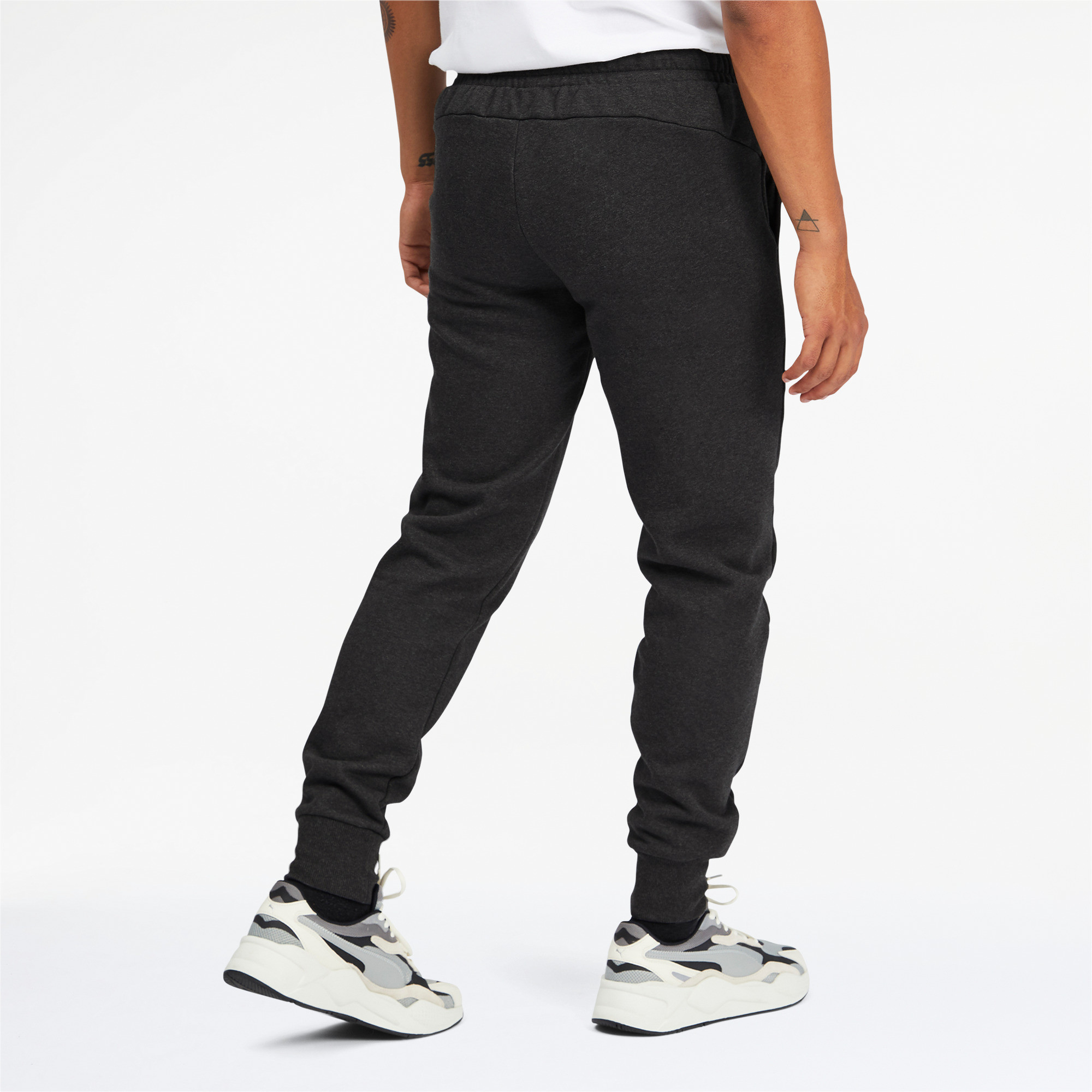 PUMA-Men-039-s-Essentials-Logo-Sweatpants thumbnail 20